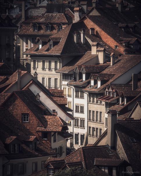 Medieval Rooftops in Bern