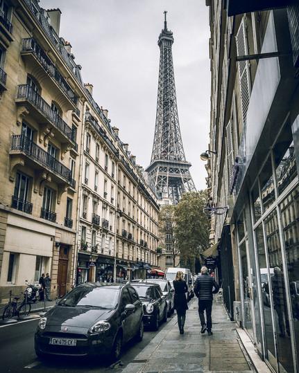 Casual Walks in Paris