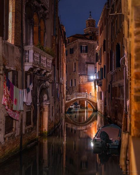 Still waters in Venice