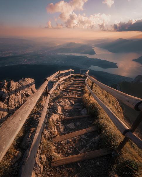 Stairway to Heaven on Mt Pilatus