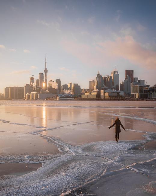 Frozen Mornings in Toronto