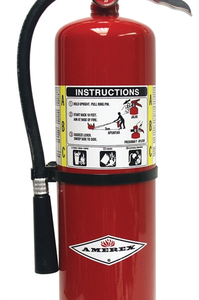 Refurbished 10 Pound ABC Fire Extinguisher