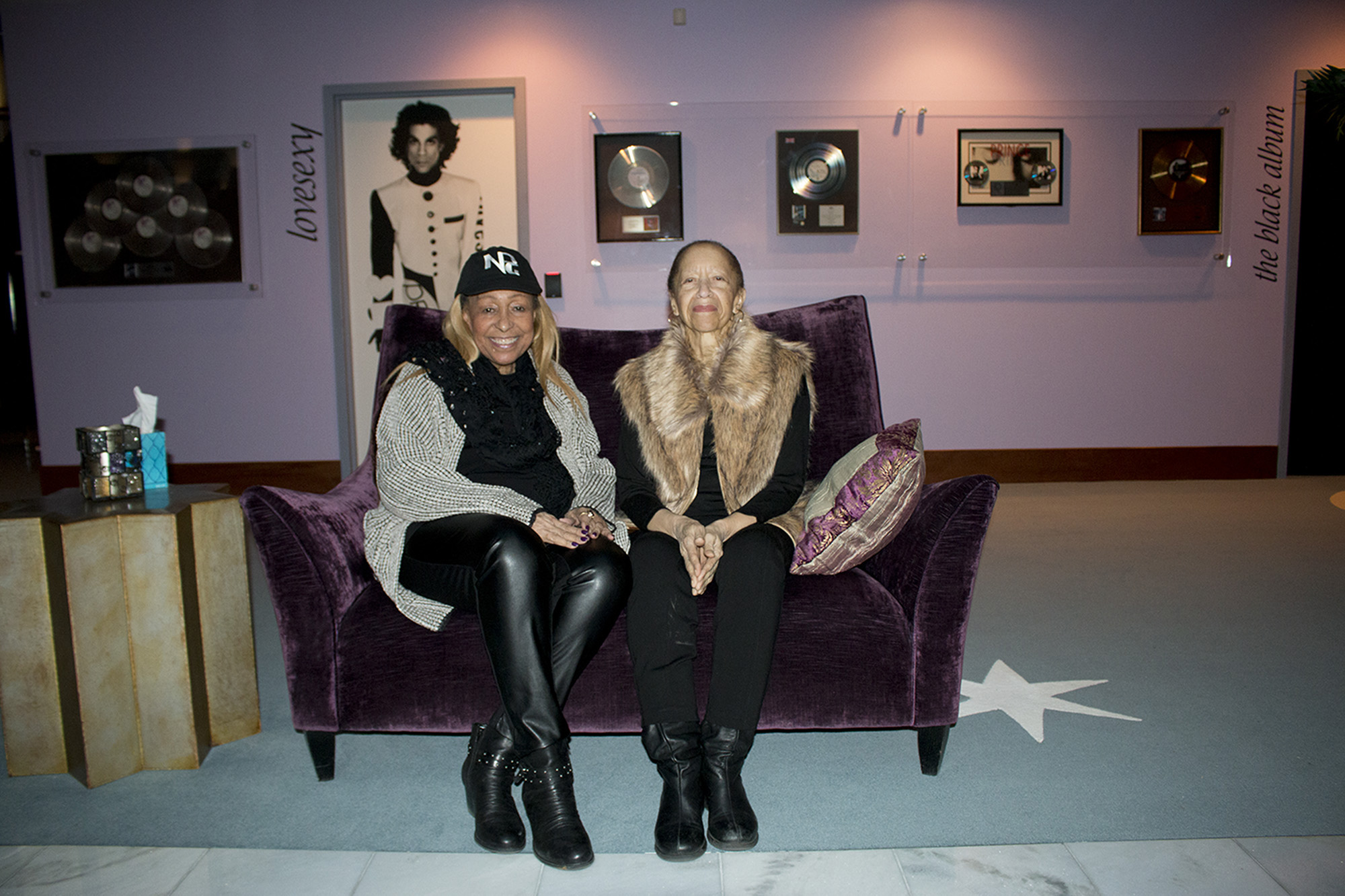 Sharon & Norrine in Paisley Park