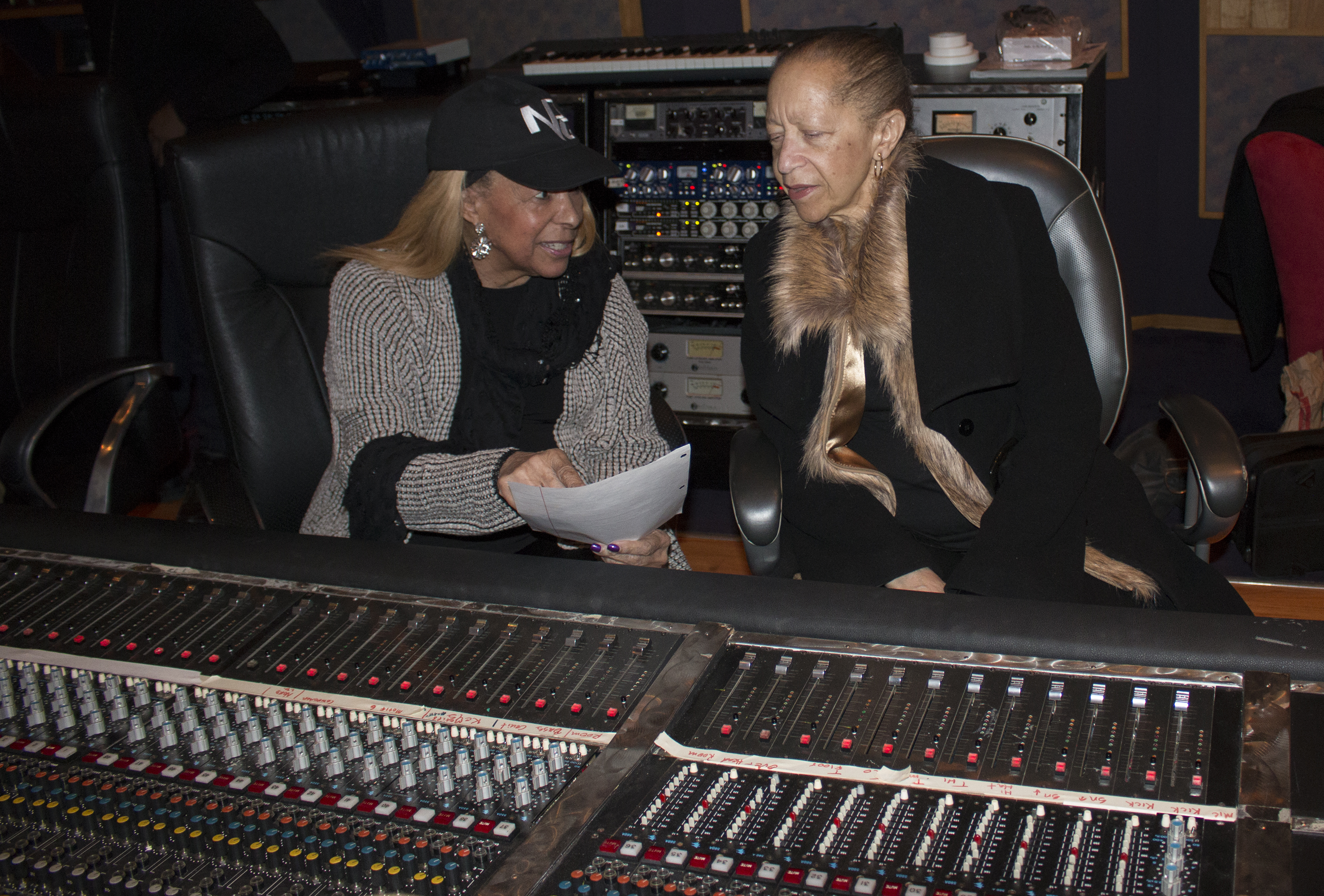 Sharon & Norrine in Control Room