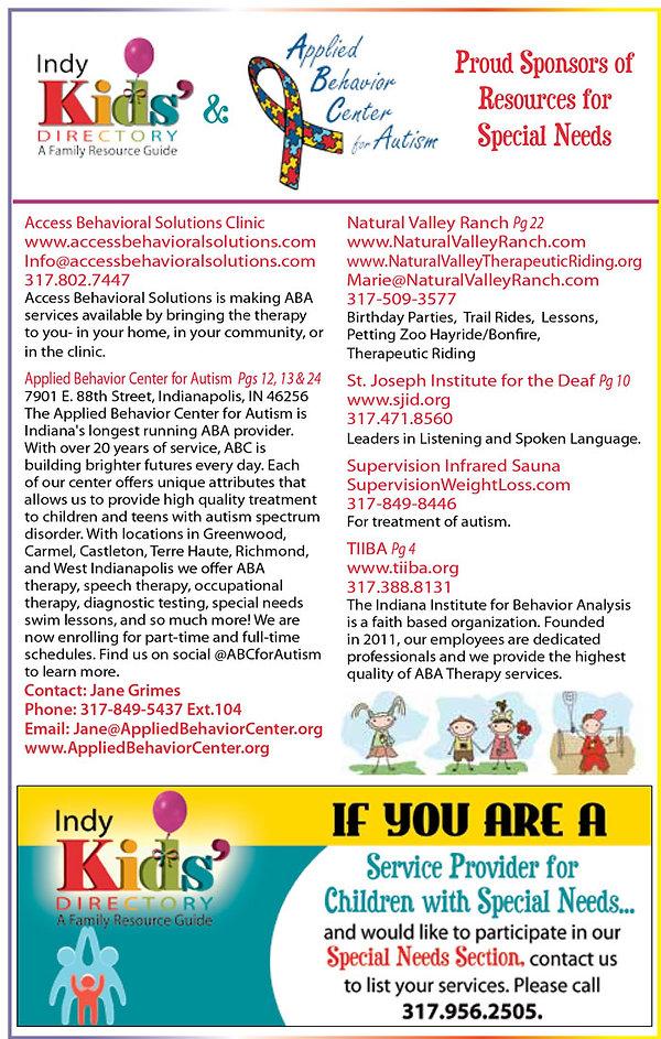 Indy Kids' Directory - Indy Children's Magazine