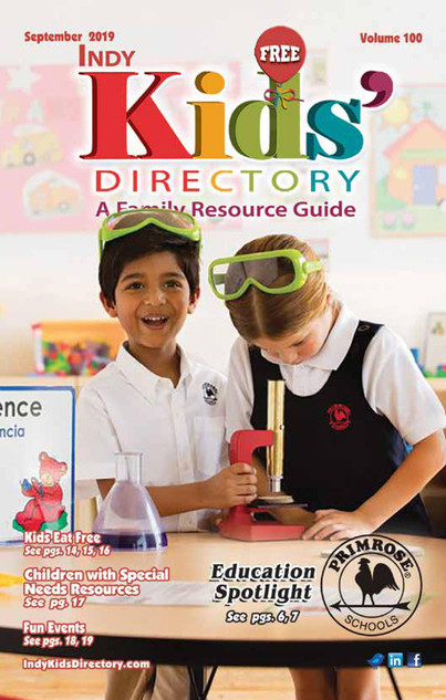 Indy Kids Directory September 2019 Cover