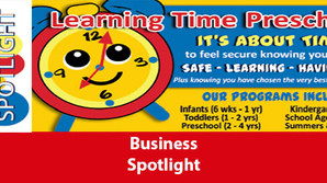 July Education Spotlight: Learning Time Preschool