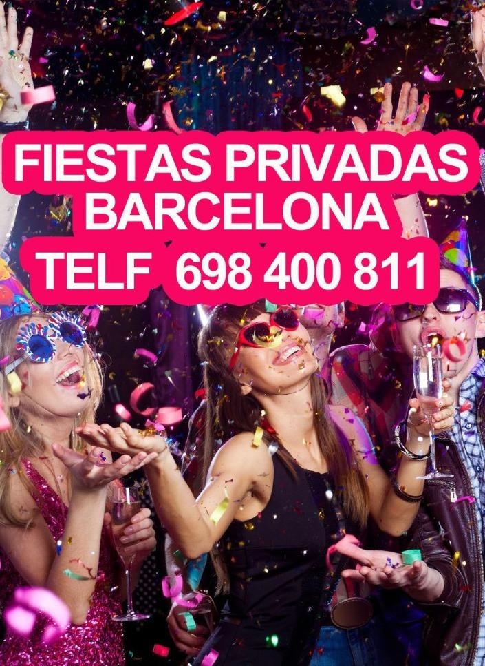 celebrar cumpleaños privados en barcelona