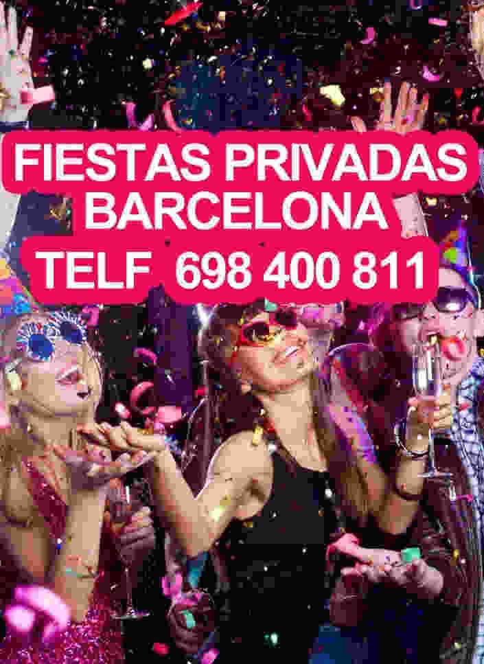 cumpleaños privados en barcelona
