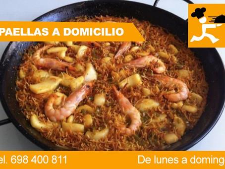 Paella de marisco en Barcelona a domicilio con fiestas privadas Barcelona