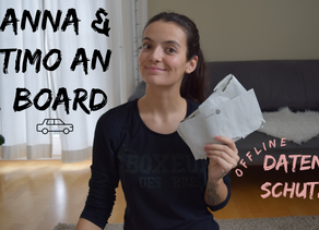 YouTube-Video: Anna & Timo an Board?