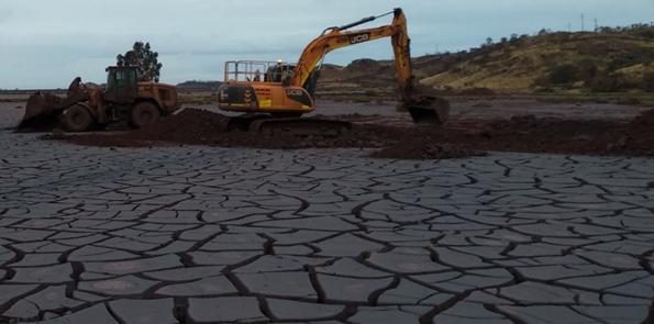 Image 2: Excavation works