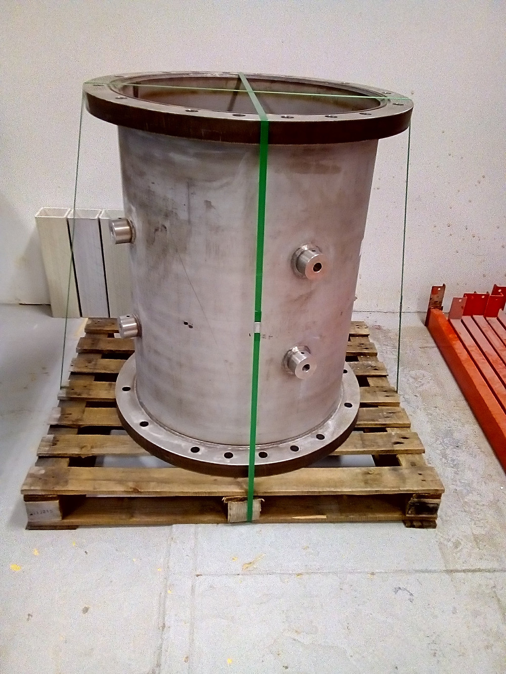 Outer shell of calibration chamber