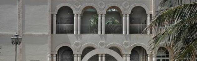 The Shul atrium balcony