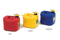 No-Spill 5 Gallon Fuel Cans