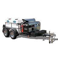 Mobile Cleaning Trailers Model 20152