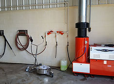 Stationary Hot Water Washer