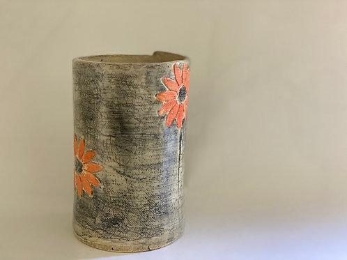 Orange Bloom Vase (Medium)