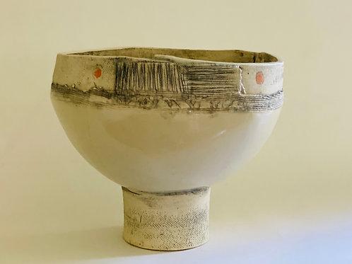 Savannah Pedestal Bowl