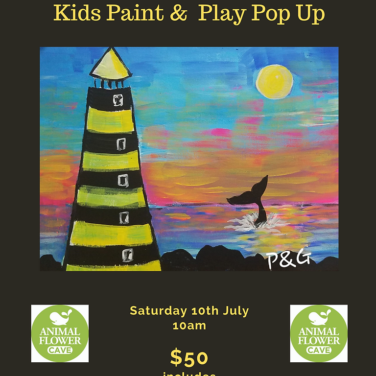 Paint & Groove Kids - Saturday 10th July