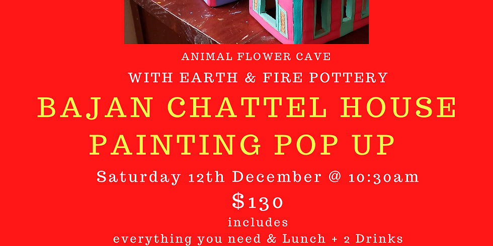 Earth & Fire Pottery Painting Pop Up