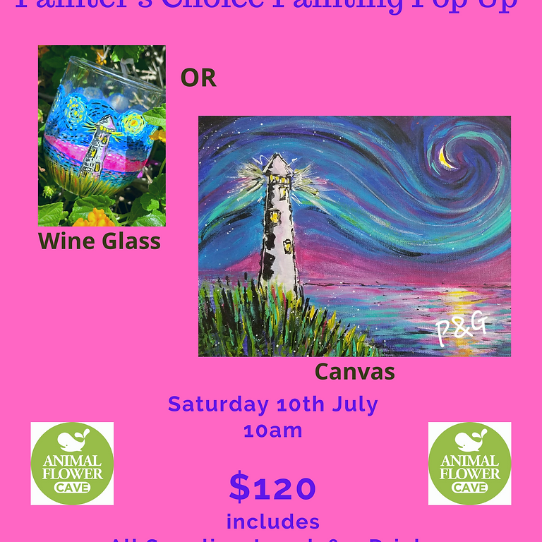 Paint & Groove - Saturday 10th July - Painter's Choice
