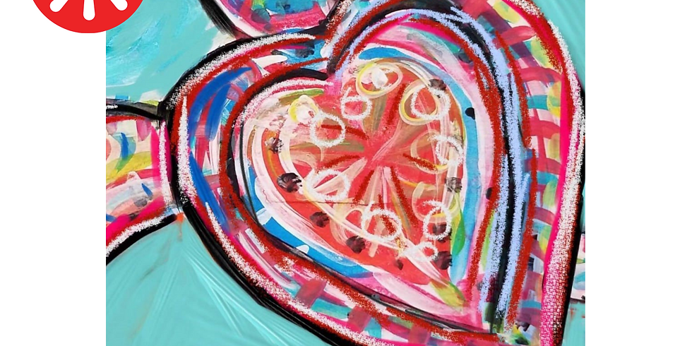 Paint & Groove Kids Painting Pop Up
