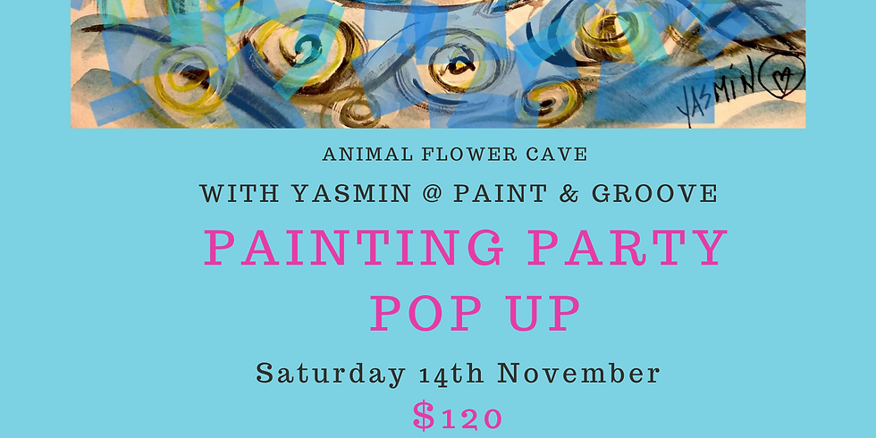 Paint & Groove - Saturday 14th November