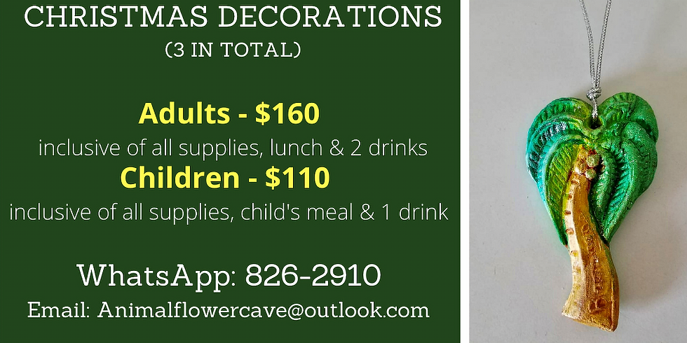 Pop Up Christmas Decorations Painting