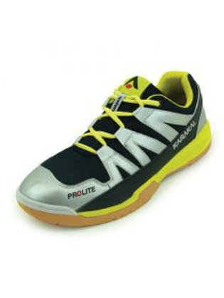 Karakal Prolite Court Shoe Silver/Yellow