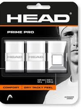 Head Prime Pro Overgrip white