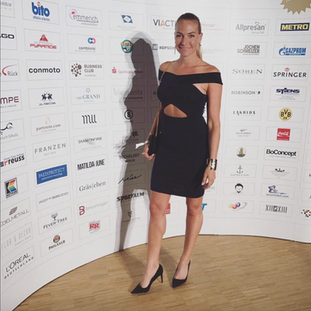 Iris at the Christoph Metzelder Stiftung Charity Event