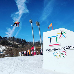 Ms Cheryl Maas competing at the 2018 Olympics