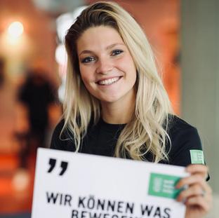 Luisa Merkentrup für die Welthungerhilfe