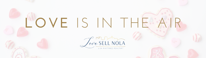 LOVE is in the air in NOLA this week!