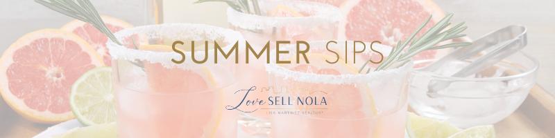 Favorite Summer Sips & Snoballs!