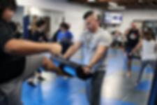 Krav Maga group classes for Santa Ana, Irvine, Tustin, and Orange County.