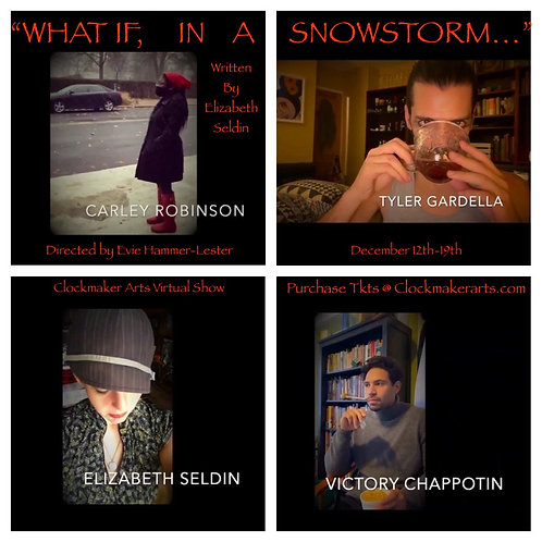 """What If In A Snowstorm"" PDF of script (Virtual Show)"