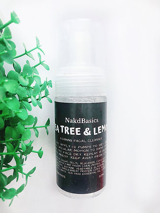 Foaming Cleanser - Tea Tree & Lemon