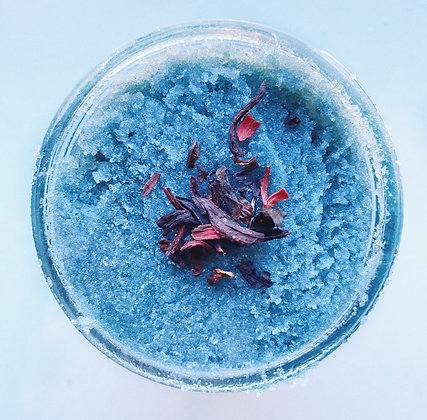 Blueberry Hibiscus Scrub