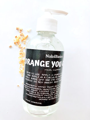 'Orange You Glad' Facial Cleanser