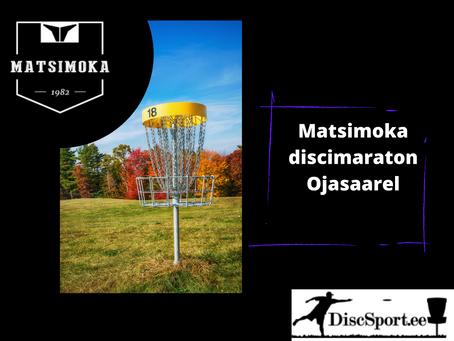 Matsimoka discimaratonil visati holar, võitjaks tuli Erkki Põldoja
