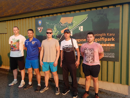 Mäetaguse Mõmmi rajal peeti Discsport.ee Ida-Virumaa nädalamängu V etapp