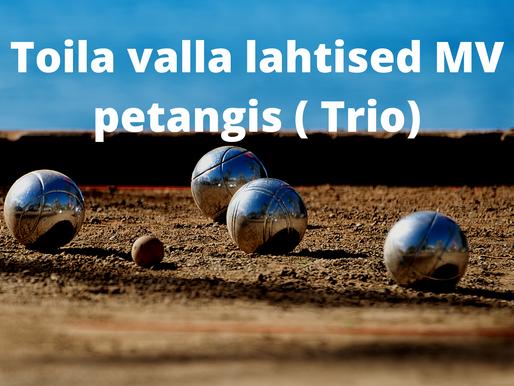 Toimusid Toila valla lahtised MV petangis ( Trio)