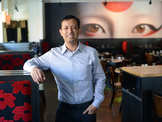 Sushi Avenue's founder, Nay Hla: his 15,000-mile journey to success