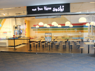 One Two Three Sushi - USB PLAZA GRAND OPENING: The Best New Skyway Lunch