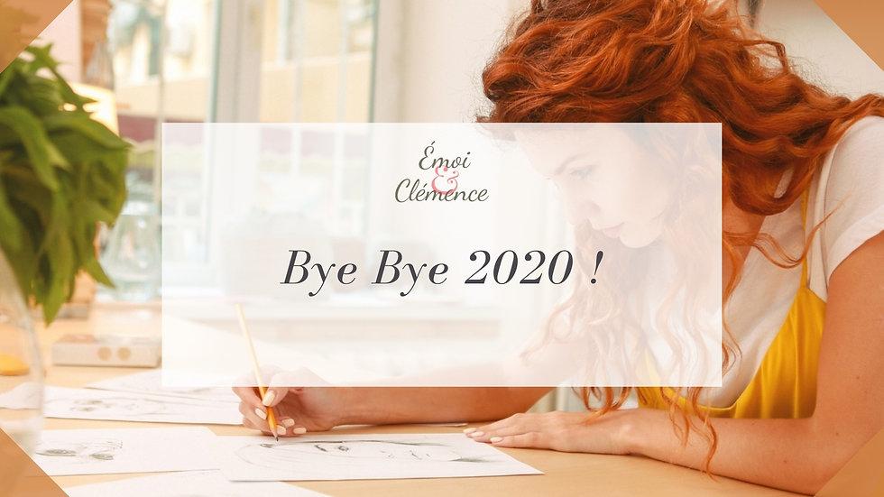Atelier Coaching et Créativité - Bye Bye 2020 !