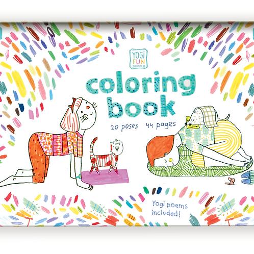 YOGi FUN book: coloring & poems