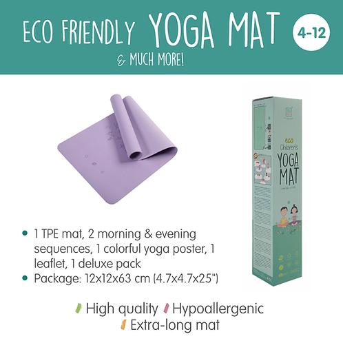 Ecofriendly Yoga Mat - Purple