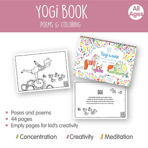 YOGi BOOK - coloring & poems
